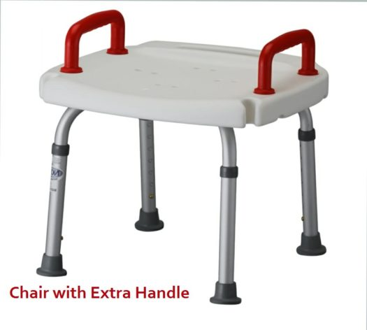 Shower chair w/2 handles