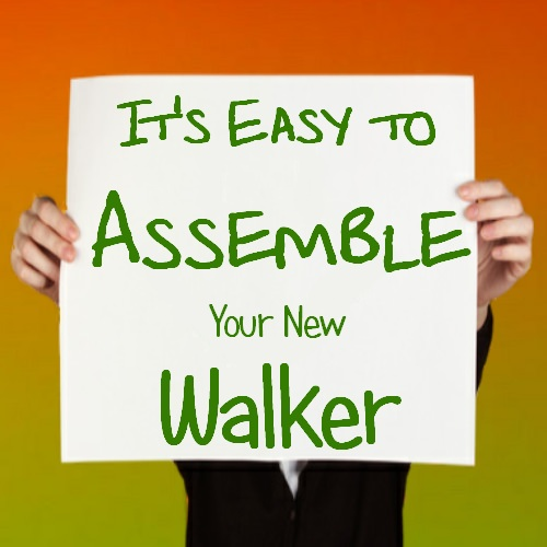 roling walker assembly